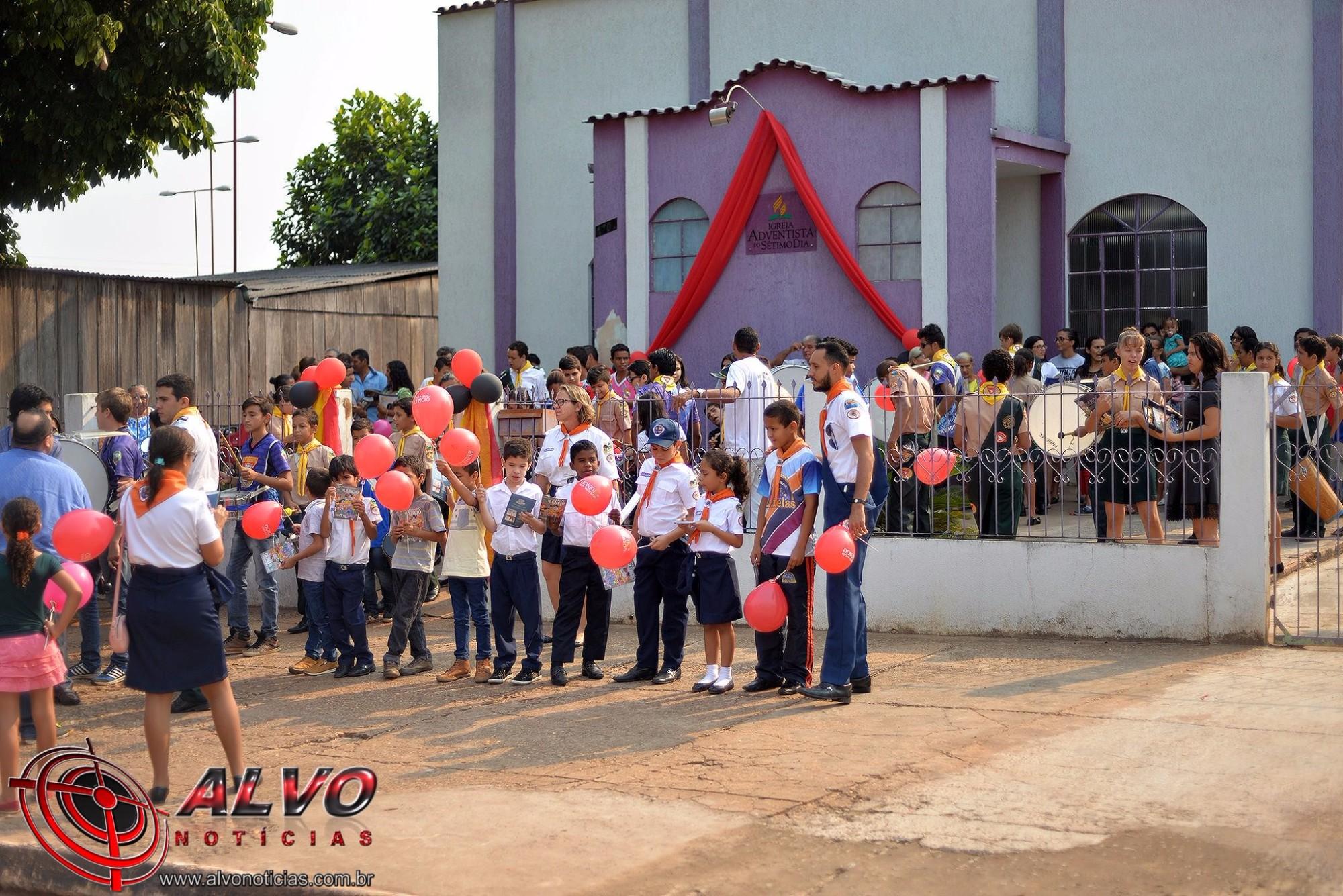 Igreja Adventista - Passeata