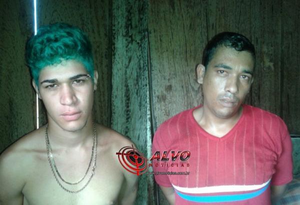 Alvorada do Oeste - Polícia captura foragido de alta periculosidade e encontra munição na casa do comparsa que também foi preso em flagrante
