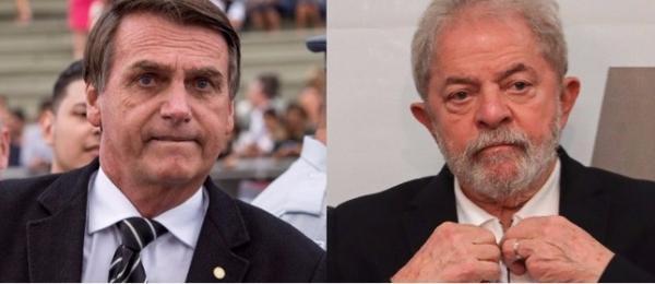 Ibope: Lula e Bolsonaro na frente