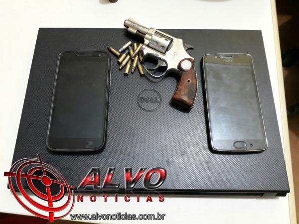 Alvorada do Oeste – Polícia age rápido e prende três acusados de roubo à mão armada