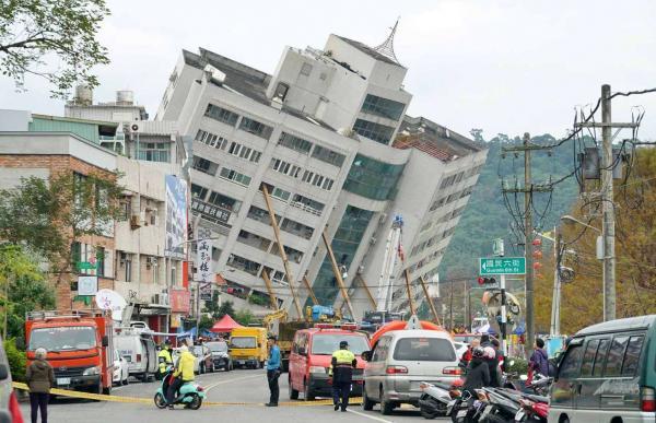 Terremoto em Taiwan deixa mortos e mais de 200 feridos