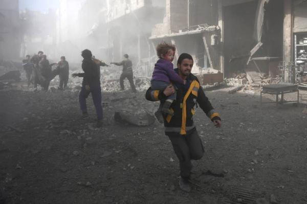 Guerra matou mais de mil crianças na Síria em 2018
