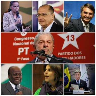 Conheça os 21 pré-candidatos à Presidência do Brasil