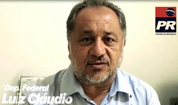 Deputado Federal Luiz Claudio anuncia que agricultores podem renegociar dívidas