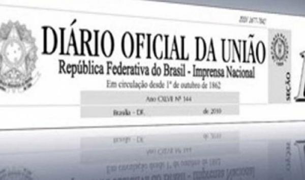 TRANSPOSIÇÃO - Diário Oficial da União publicou nesta sexta-feira nova lista de servidores beneficiados