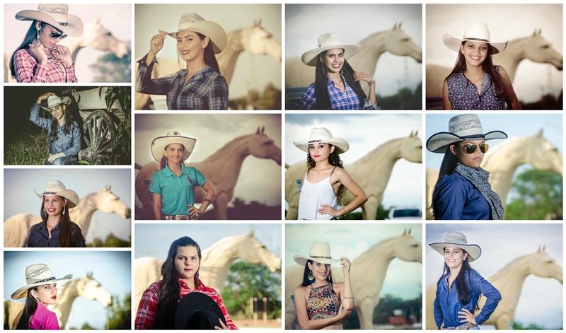Conheça as candidatas a rainha do rodeio de Alvorada do Oeste