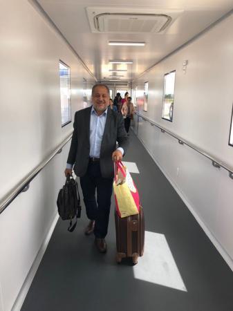 Luiz Cláudio inaugura o Elo do aeroporto de Porto Velho e anuncia a internacionalização como próximo objetivo