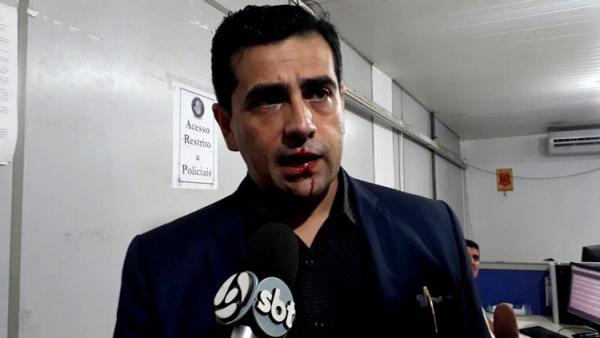 URGENTE: Agente da Semtran agride advogado Breno Mendes na Central de Flagrantes