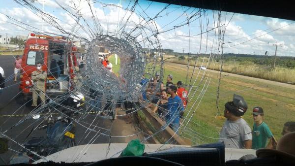 Polícia identifica suspeito de matar caminhoneiro com pedrada em Rondônia