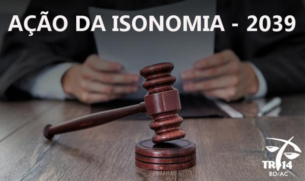 AÇÃO DE ISONOMIA - Justiça do Trabalho divulga lista atualizada dos técnicos administrativos integrantes do precatório