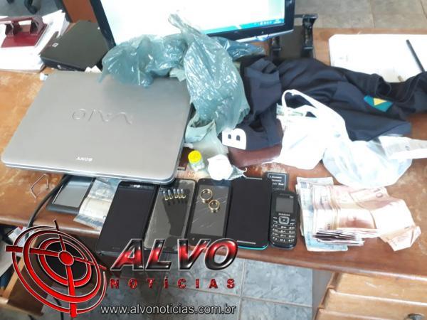 Polícia Civil de Alvorada deflagra operação contra crimes contra patrimônio e contra o trafico de drogas