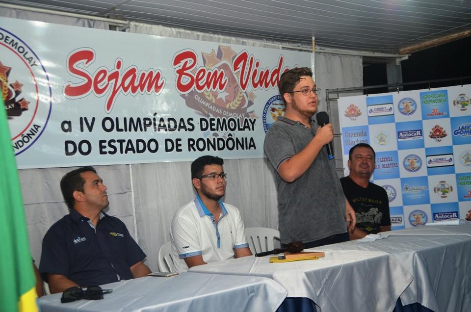Alvorada do Oeste sedia 4ª Olimpíada da Ordem DeMolay do estado de Rondônia