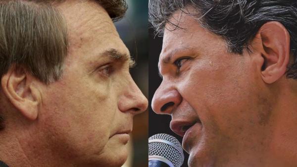 A 6 dias da eleição, Bolsonaro lidera em 18 Estados; Haddad, em 8
