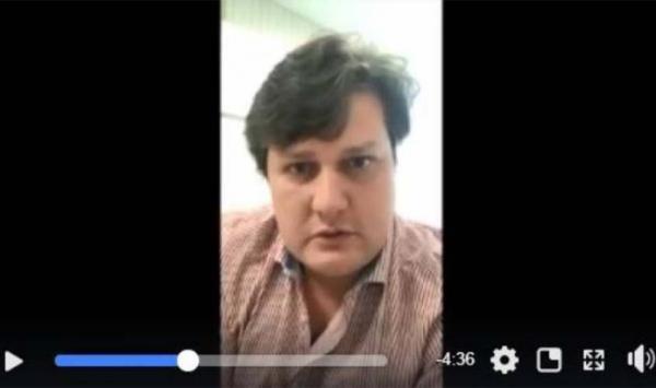 """No Facebook, filho de senador rondoniense condenado pelo STF mostra documentos e denuncia """"injustiça"""" contra o pai"""