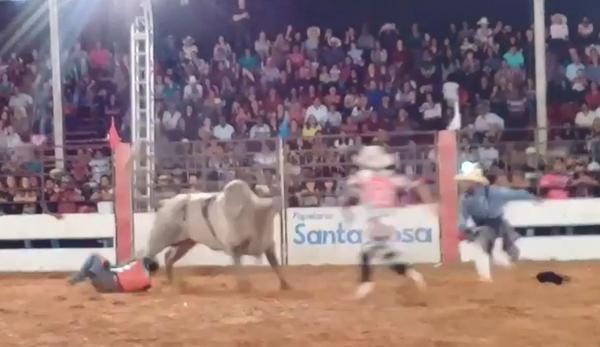 Peão morre após ser pisoteado no tórax durante rodeio em Guaimbê; vídeo