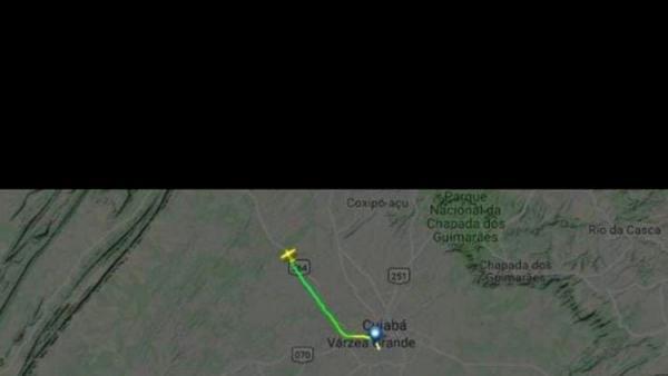 URGENTE: Aeronave que saiu de Rondônia desaparece dos radares