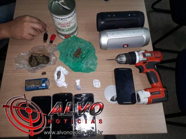 Alvorada do Oeste – Polícia Civil intensifica ações contra furtos e tráfico de drogas e prende vários suspeitos