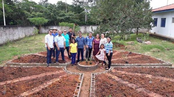 Horta de plantas medicinais é inaugurada em Urupá