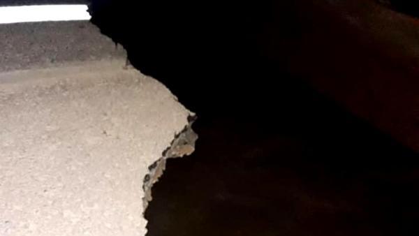 INTERDITADA: Queda de cabeceira de ponte deixa BR-364 intransitável em Rondônia