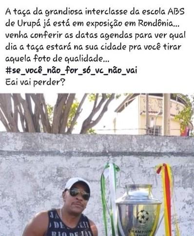 Interclasse de escola em Urupá agita a web na região central de Rondônia