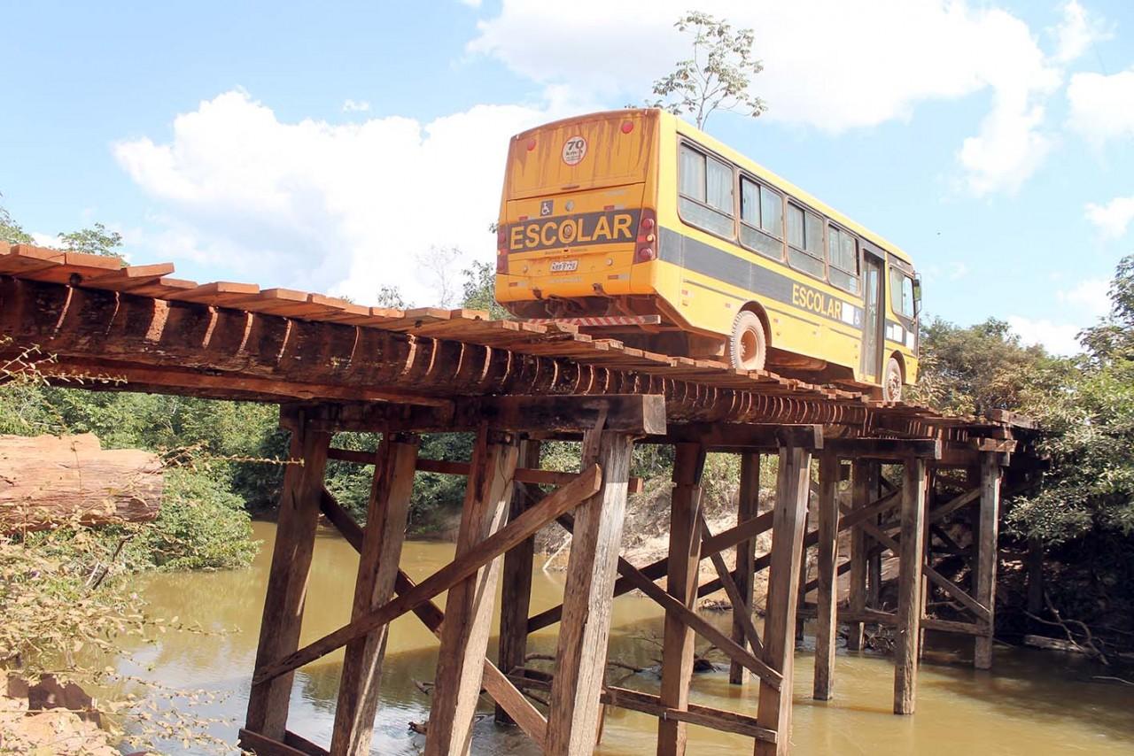 Autorizado início da obra de mais uma ponte na Linha 48, em Alvorada do Oeste