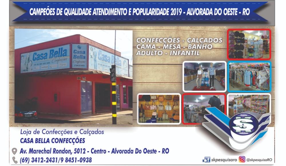 Alvorada do Oeste - Conheça os campeões de qualidade, atendimento e popularidade – Rondônia