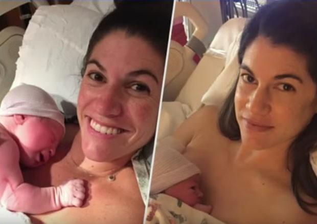 Gêmeas dão à luz bebês exatamente no mesmo minuto