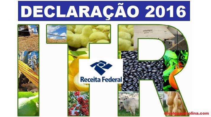 Encerra na próxima sexta-feita (30) o prazo para declarar o ITR