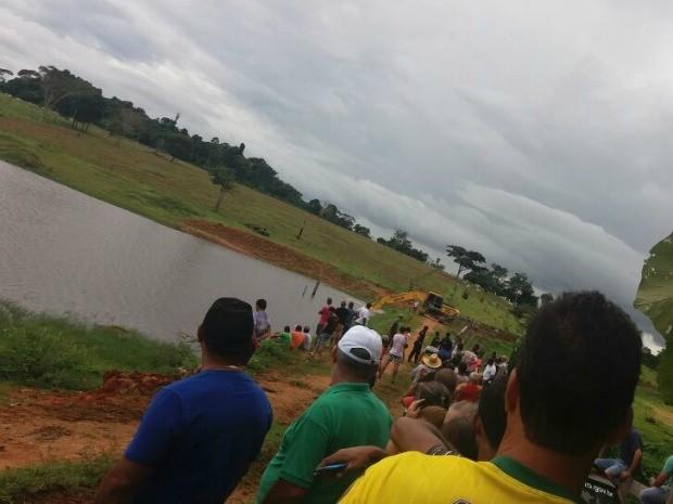 Represa onde vice-prefeito sumiu ao cair de bote começa ser esvaziada