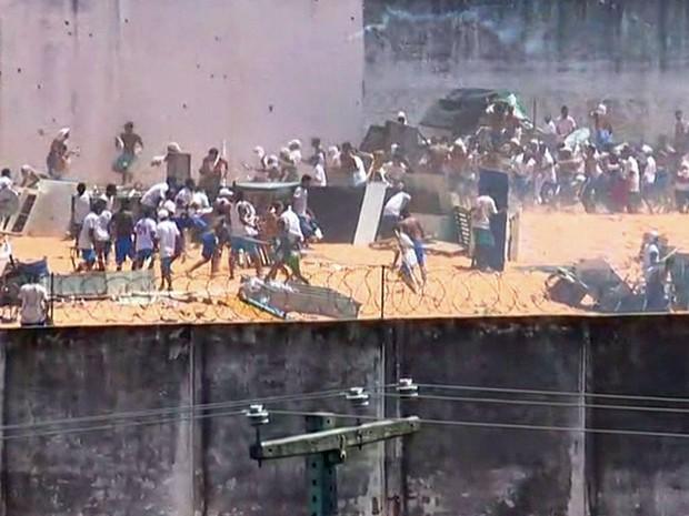 PM diz que há mortos em nova rebelião em Alcaçuz, RN