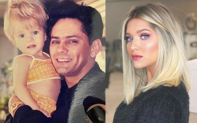 Filha do cantor Leandro lamenta 22 anos sem o pai: