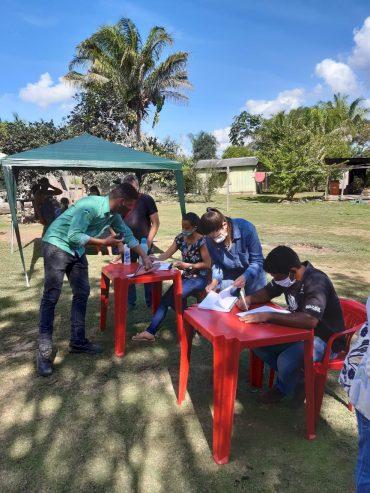 Extrativistas da Unidade de Conservação Rio Cautário formalizam os primeiros contratos de crédito de carbono