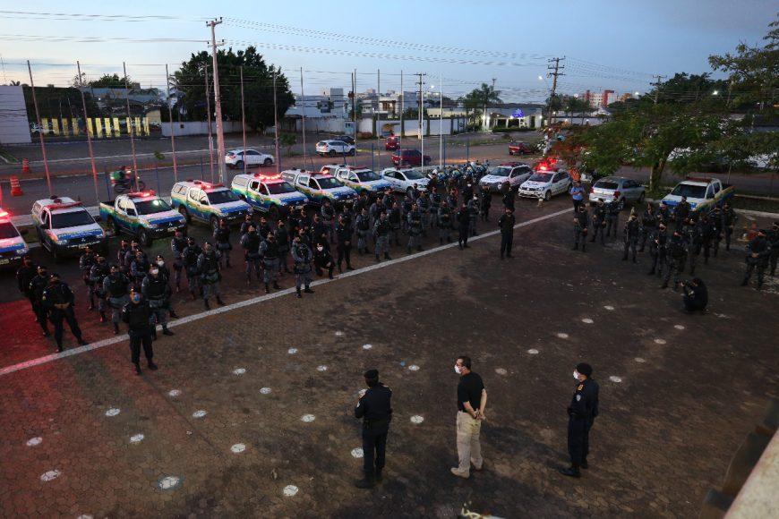 Polícia Militar reforça combate às facções criminosas nos residenciais Orgulho do Madeira e Morar Melhor em Porto Velho
