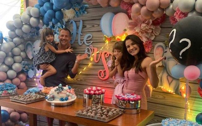Bebê a bordo: Malvino Salvador será pai de um menino