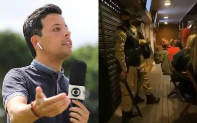 Repórter da Globo detona