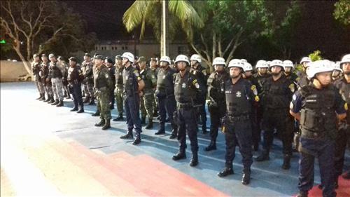 Polícia Militar com policiamento pronto para o carnaval
