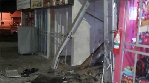 Bandidos explodem caixa eletrônico na rodoviária