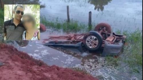 Mirante da Serra - Uma pessoa morre e outra fica ferida após carro cair em rio Esmeril