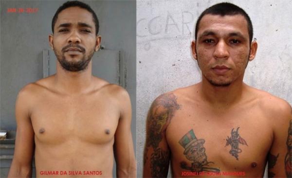 Dois presos fogem do regime semiaberto da Casa de Detenção de Ouro Preto do Oeste