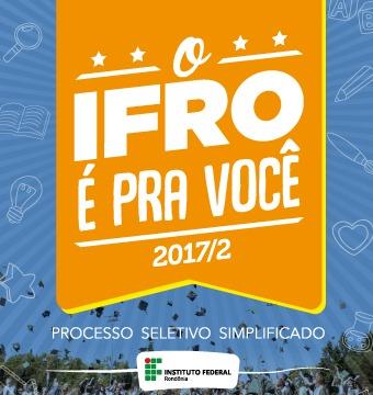 IFRO oferta mais de 200 vagas para cursos técnicos e superiores
