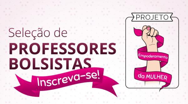 IFRO seleciona professores para o Projeto Empoderamento da Mulher