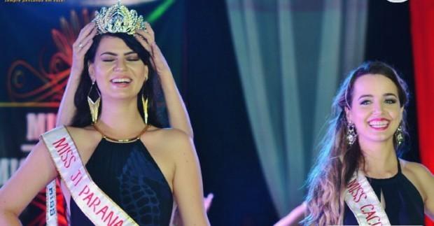 Miss Rondônia é 'descoroada' no palco e acusa organizadores de fraude
