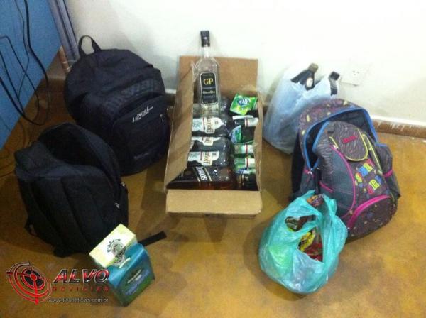 Alvorada do Oeste - Polícia Civil esclarece furtos em escola e mercado da cidade