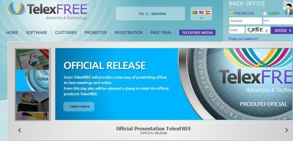 URGENTE - Justiça autoriza devolução de dinheiro aos investidores da Telexfree e indenização de R$ 3 milhões