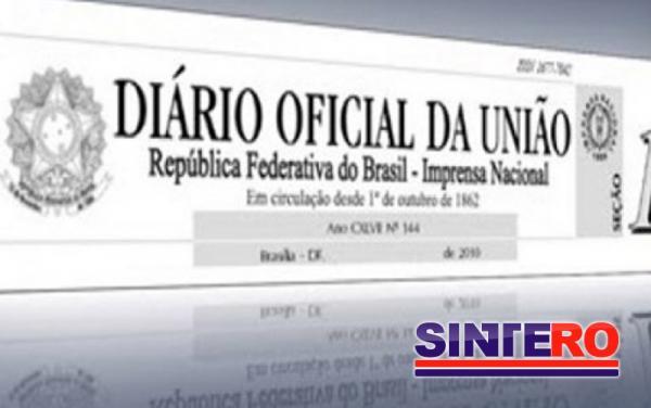 TRANSPOSIÇÃO - Mais servidores têm os nomes publicados no Diário Oficial da União