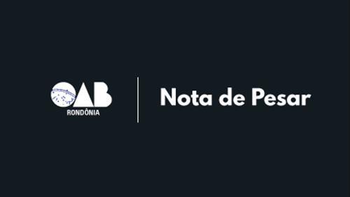 OAB/RO lamenta morte do advogado Leandro Maciel Garcia