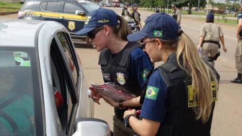 Polícia Rodoviária Federal participa da Semana Nacional de Trânsito