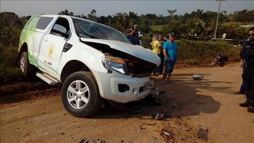 Empresário morre após bater de frente com carro de funerária em Buritis