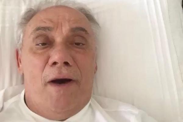 Namorada posta último vídeo de Marcelo Rezende: 'Aguenta firme'