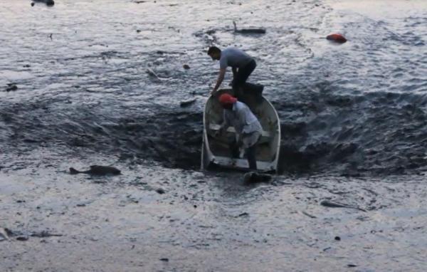 'Foi assustador', diz sobrevivente de barco 'sugado' em represa que secou em Franca